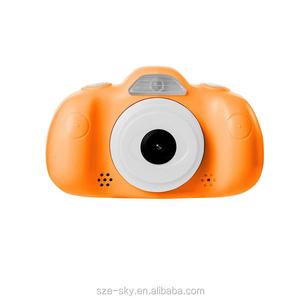 Best Newest Child Cartoon Small Toy 1080P Children Game Kids Digital Camera 2.4 inch LCD Screen Video Cam