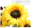 Professional customized design decoration artificial flowers helianthus annuus artificial sunflower