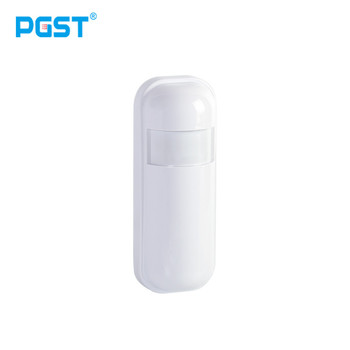 PGST Hot Sell China manufacturer 315MHz 433MHz Wireless Mini Infrared PIR Motion Sensor Detector for Home Alarm System