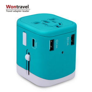 New mobile phone accessories portable mobile charger usb type c port universal quick charger