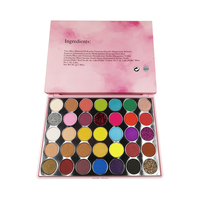 Private Label Make Up Cosmetics no brand wholesale makeup Pressed 35 color eyeshadow maquillaje