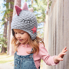 Wholesale Fashion Funny Kids Knitted Animal Beanie Cute Winter Hats