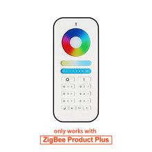 G светодиодный OPTO ZIGBEE 3,0 RGBW контроллер плюс DC 12 В 24 в умный светодиодный контроллер полосы работы с ZIGBEE Hub беспроводной пульт дистанционного у...(Китай)