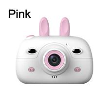 Детская мини-камера, 2,4 дюйма, экран 18 МП, двойная фронтальная камера s, Детская цифровая видеокамера, фото-и видеосъемка, лучший подарок для д...(Китай)