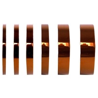 Goldfinger amber color high temperature heat resistant esd insulation polyimide silicone adhesive tape