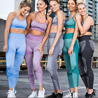 Suit Bra 2020 New Slim Fit Quick And Easy To Dry Comfortable Yoga Fitness Suit Bra Set 2 Piece Set Women Gym Fitness Clothing