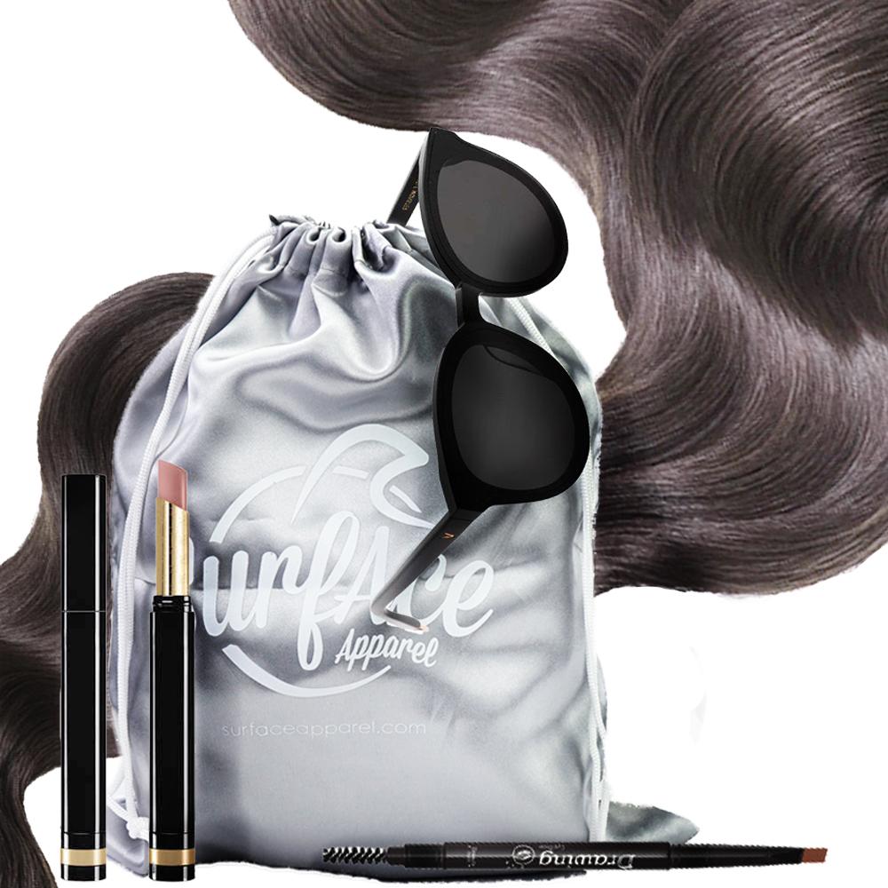 Custom Printed Logo Large hair silk jewelry Eyelash dust pouch shoe dust bag satin dust bags for handbags hair bags packaging