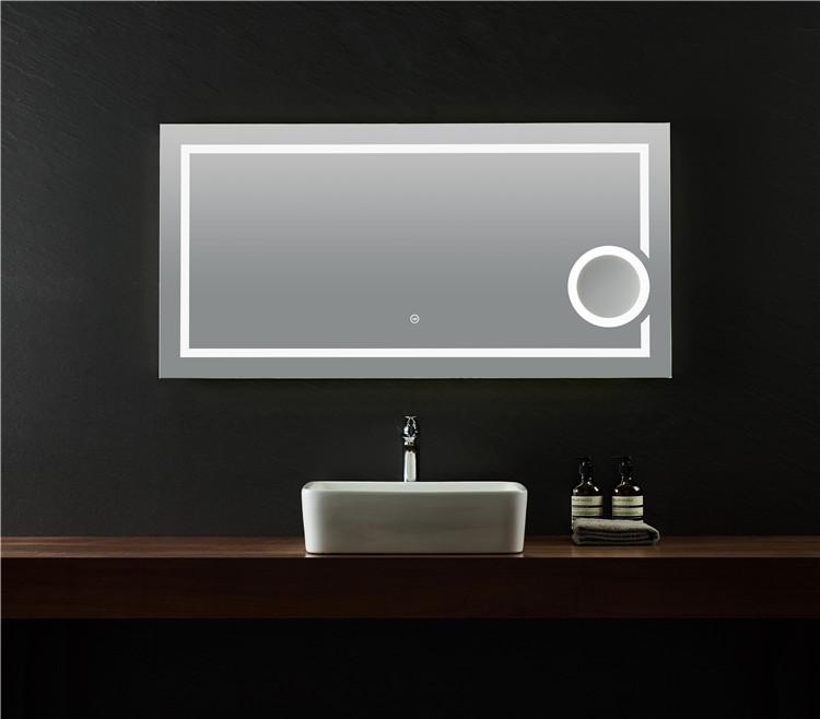 Vanity Mirror Led Lights Wash Basin Framed Bathroom Mirrors Buy Vanity Mirror Led Lights Wash Basin Mirror Framed Bathroom Mirrors Product On Alibaba Com