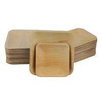 Eco friendly biodegradable bamboo disposable plates bulk and cheap wholesale palm leaf disposable plates