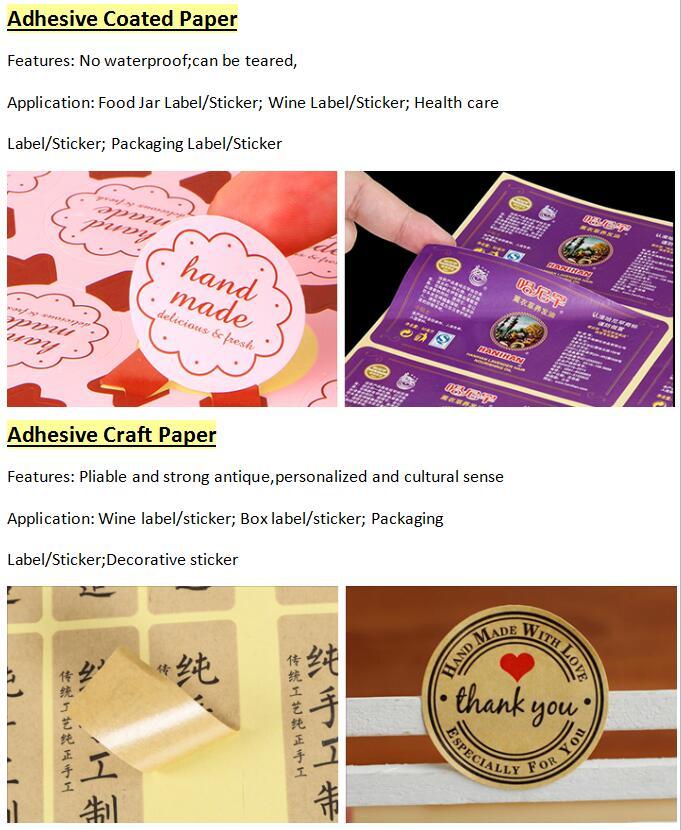 Perekat Bunga Terima Kasih Sealing Stiker Kustom Percetakan Label