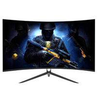 32 inch ultra wide curved screen HD gaming monitor pc desktop cpu monitor wholesale 144Hz