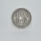 Coin Maker Wholesale Cheap Custom 3D Blank Metal Religious Coin