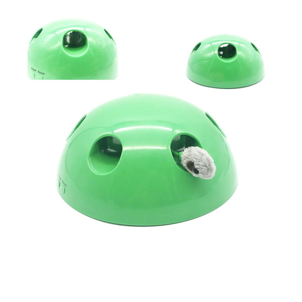 Electric Interactive Cat Toy Pop Play Pet Ball Scratching Device Funny Cat For Cat Sharpen Claw