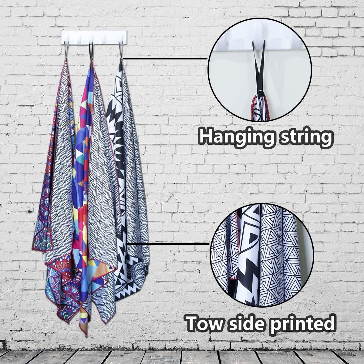 popular fashion support personalized print microfiber bath towel