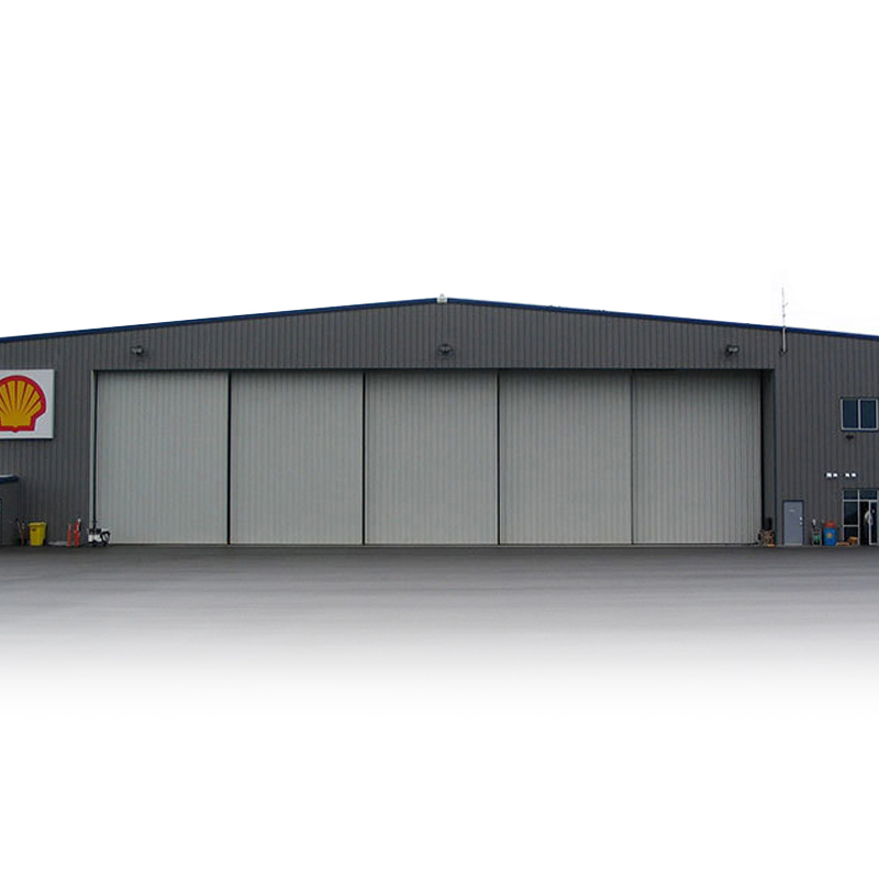 Made In China Q345 Prefabricated Two Story Prefab Low Cost Of Metal Frame Steel Airplane Warehouse Hangar