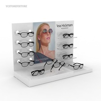 Fashion design countertop acrylic glasses display stand