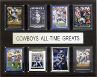 C & I Collectables 1215ATGCOW NFL Dallas Cowboys All-Time Greats Plaque