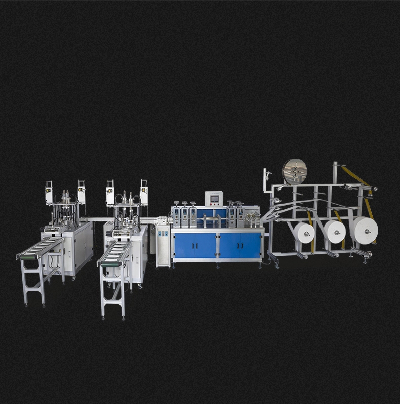 DBKZ-A 1+2 Fully Automatic Medical Non Woven Disposable 3 ply Face Mask Making Machine