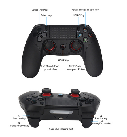 Wireless Smartphone Joystick Gamepad <strong>Android</strong> <strong>Controller</strong> <strong>Bluetooth</strong> Control for IOS and <strong>Android</strong> PC Smart TV with Support