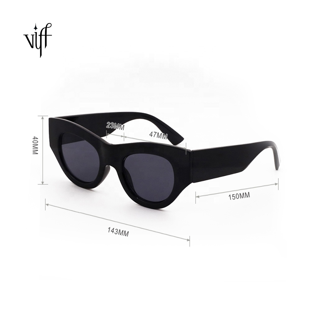 Newest Item HP18056 Plastic Frame High Quality Ladies Sunglasses