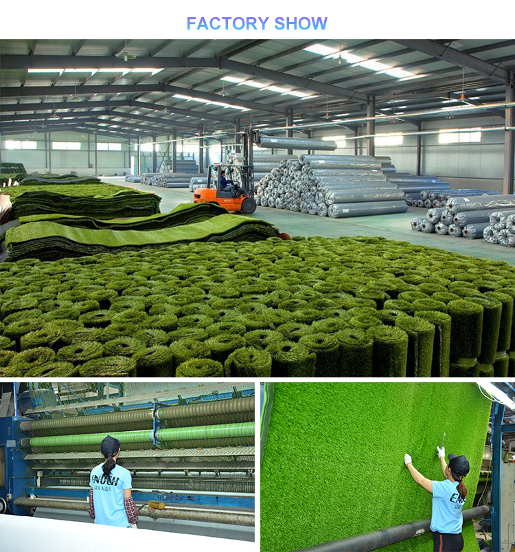 ENOCH  Sample free 100% new synthetic soft turf football artificial grass for sport soccer pitch