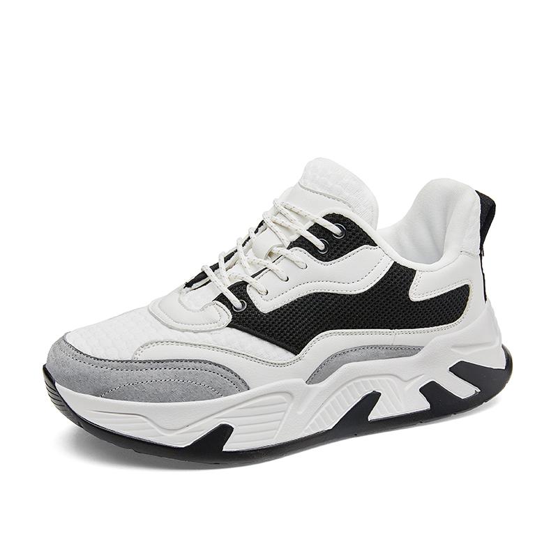 Nieuwe Sneakers Casual Mannen Schoenen Running, Luxe Sneakers Schoenen Sport Mannen, Chunky Hak Schoenen Mannen Sneakers Sport