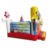 Colorful Kids Jumping Inflatable Small Bouncer Sponge Trampoline Bob Bouncy Castle With Blower