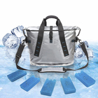 Portable TPU Cooler Bag Tote Tarpaulin Dry Bag 100% Leakproof Ice-For-Days Designed to Carry Big Food-And-Beverage Cargoes