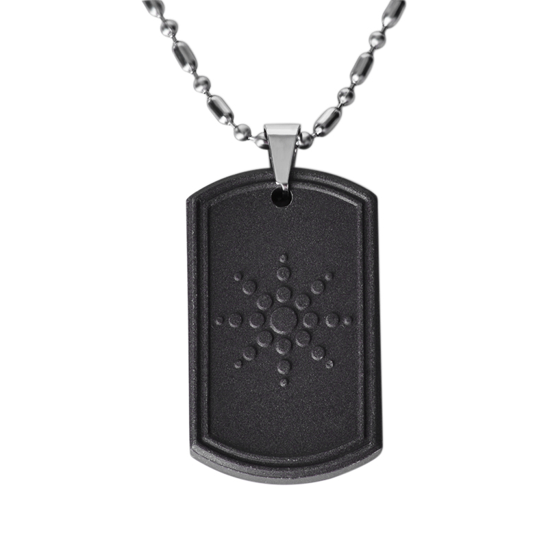 Quantum Science Lava Stone Pendant Necklaces Scalar Energy Pendant