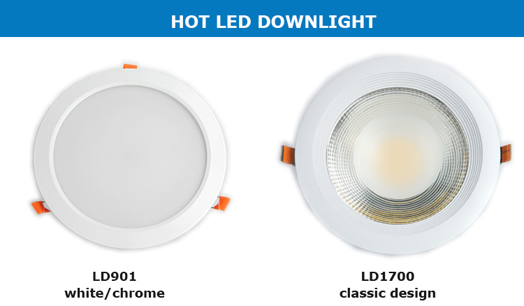 Hot Sale High Quality Warm White Aluminum Housing Lighting 7w Recessed Led Square Downlight