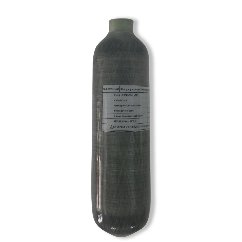 1.1L Scuba Diving Air Compressor Carbon Fiber Cylinder T