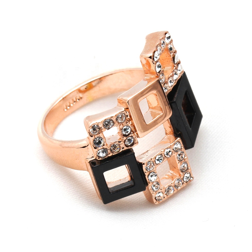 product-Hip Hop Zircon With Swivel Cuban Ring, New Cuban Rotatable Ring-BEYALY-img-1