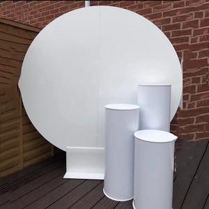 NAXILAI Acrylic Flower Stand For Wedding Backdrop Stand Wedding And Wedding Pedestal Columns
