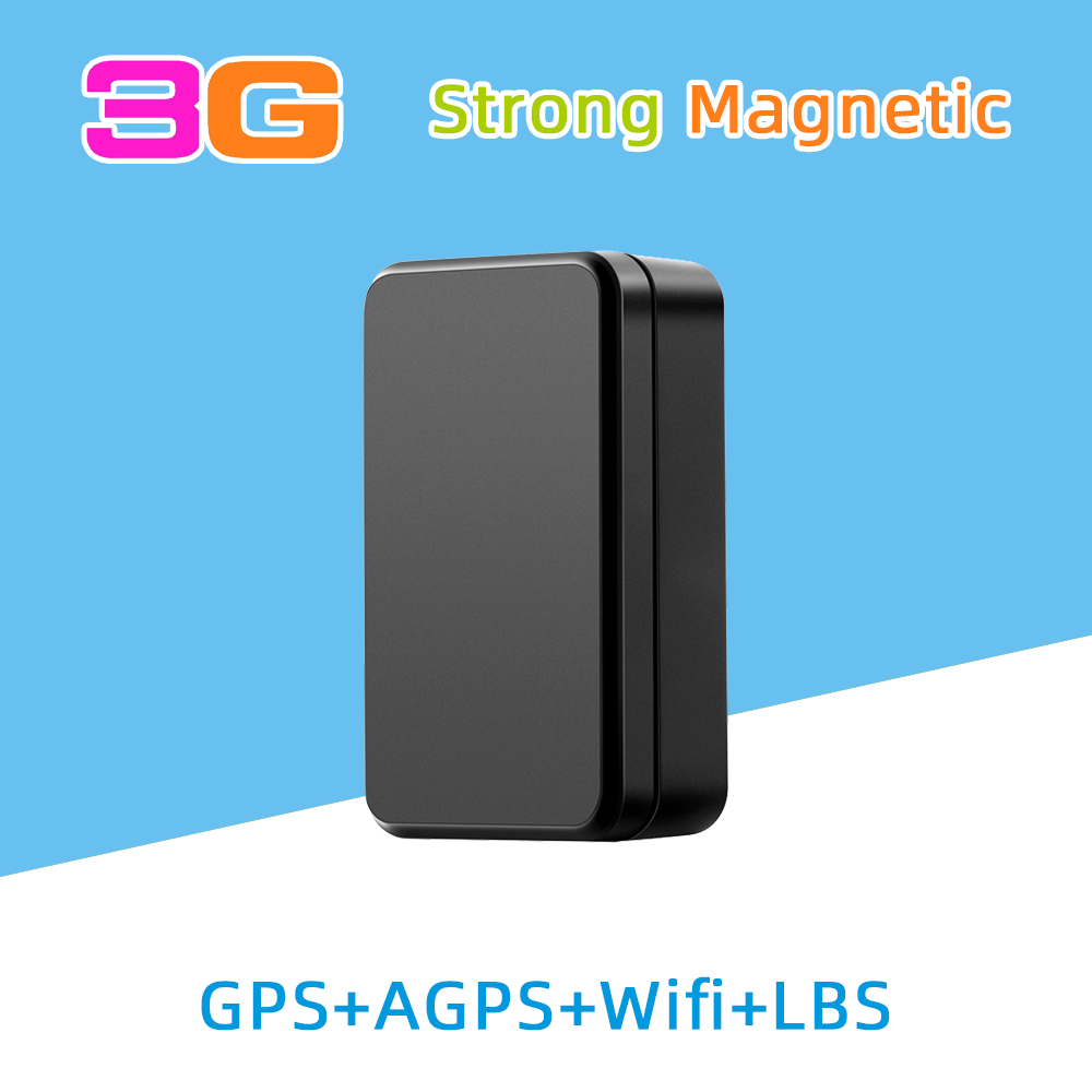 Big battery long lasting strong magnetic wireless 3G car GPS tracker for vehicle track container