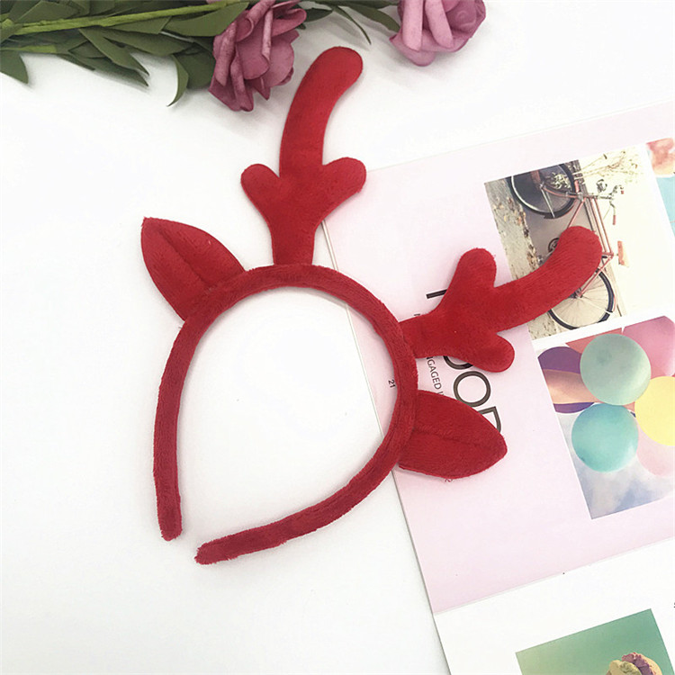 Cheap Quality Christmas Gift Head Band Hair Hoop Kids Accessories Decorations Hair Hoop