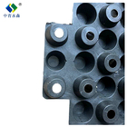 drain conduit equipment layer device channel pipe drainage board waterproofing sheet Roof greening