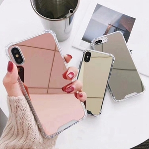 Mirror TPU Case For iphone 11 Pro XS MAX XR X 10 8 plus Shockproof Fundas Cover For iphone 7 8 6s 6 s plus Phone Cases