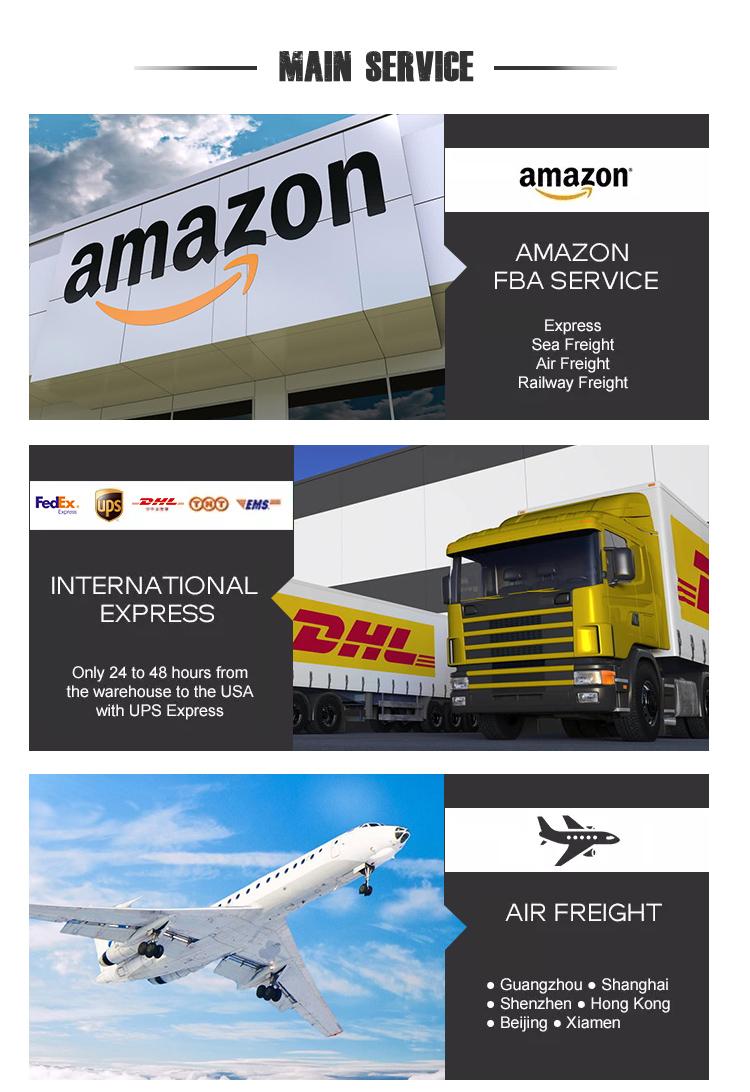 Amazon FBA экспедитор служба доставки груза самолетом из Китая в США