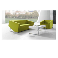 Modern Design Office Furniture Couches Living Room Furniture Set Leather Office Sofa