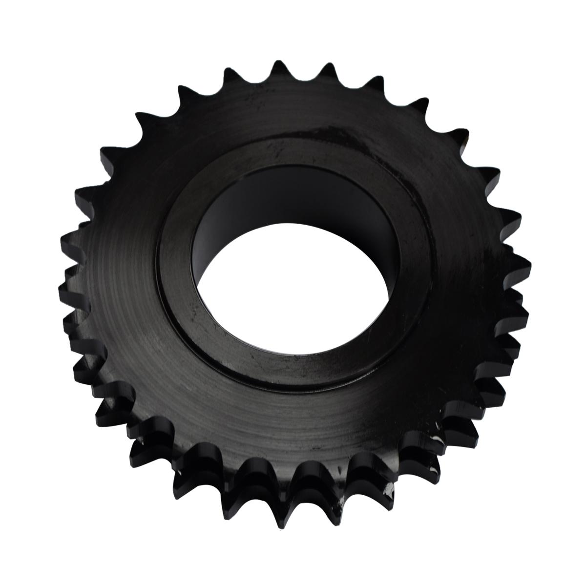 Sprocket wheel kits Hard teeth CT100 transmission Driven Stainless Steel double duplex conveyor roller chain Sprockets