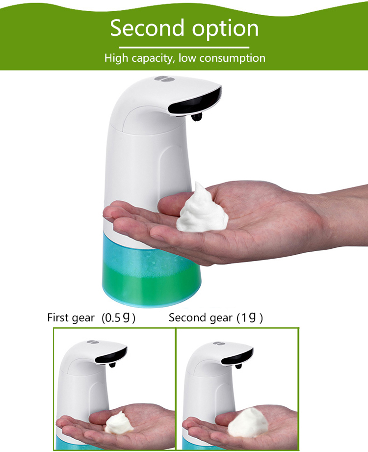 Quality assurance touchless foaming soap dispenser motion sensor soap dispenser