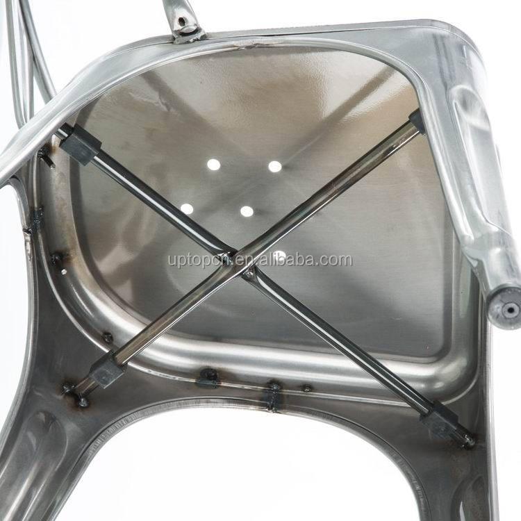 product-Sample design wood seat metal frame chair-Uptop Furnishings-img-2