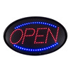 Customized acrylic lighting letters,full color outdoor LED open sign