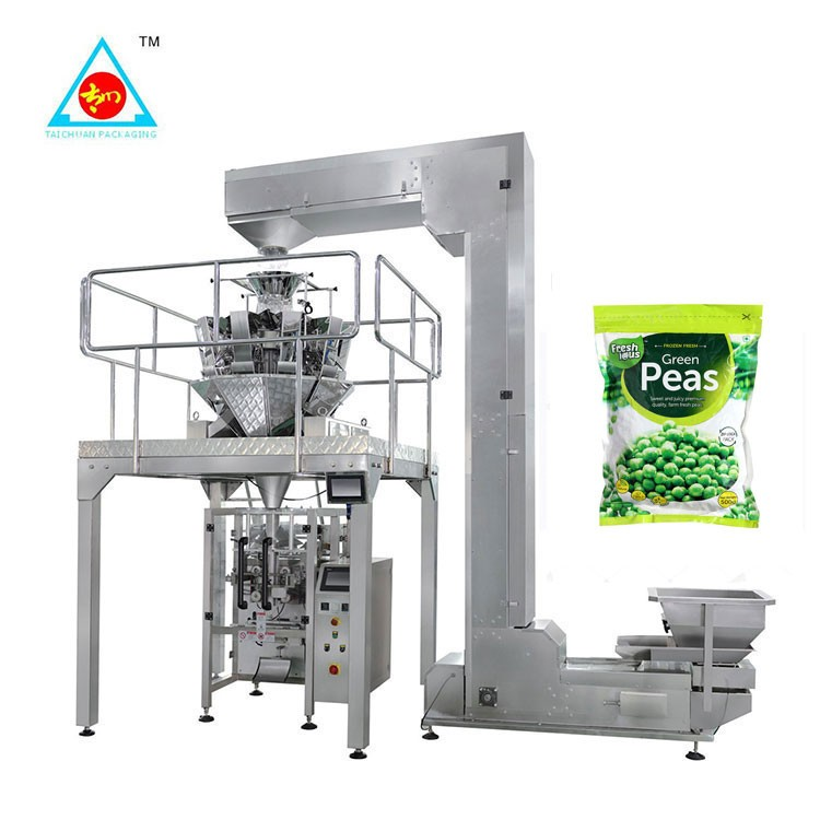 1kg - 5kg Plastic Bag Fully Automatic Granule Particle food rice Packing Machine Price