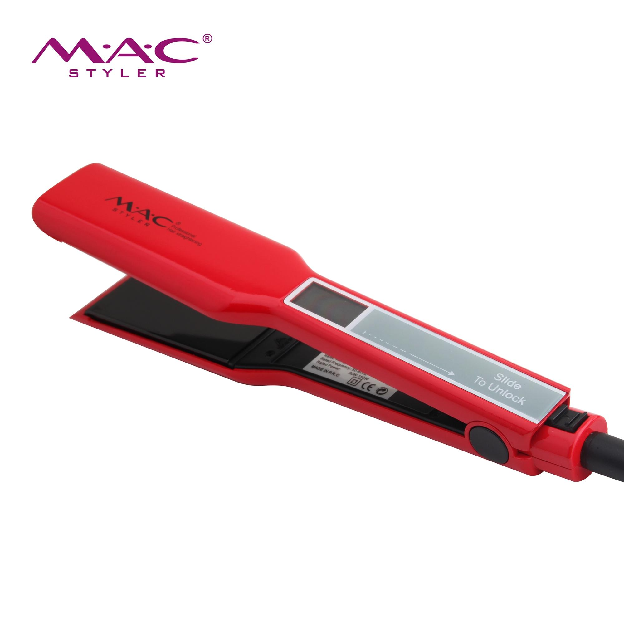 the innovative control panel with touch interface alows you to adjust all control settings custom flat iron digital