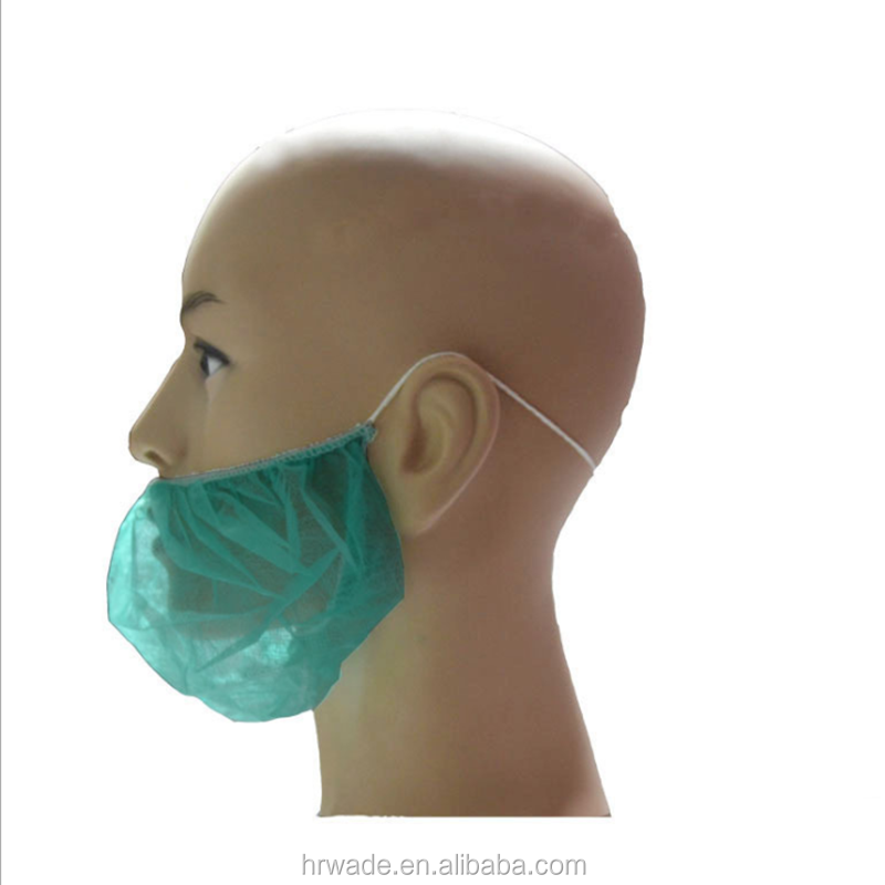 Machine Made Disposable Beard Protector Nets Beard Cover