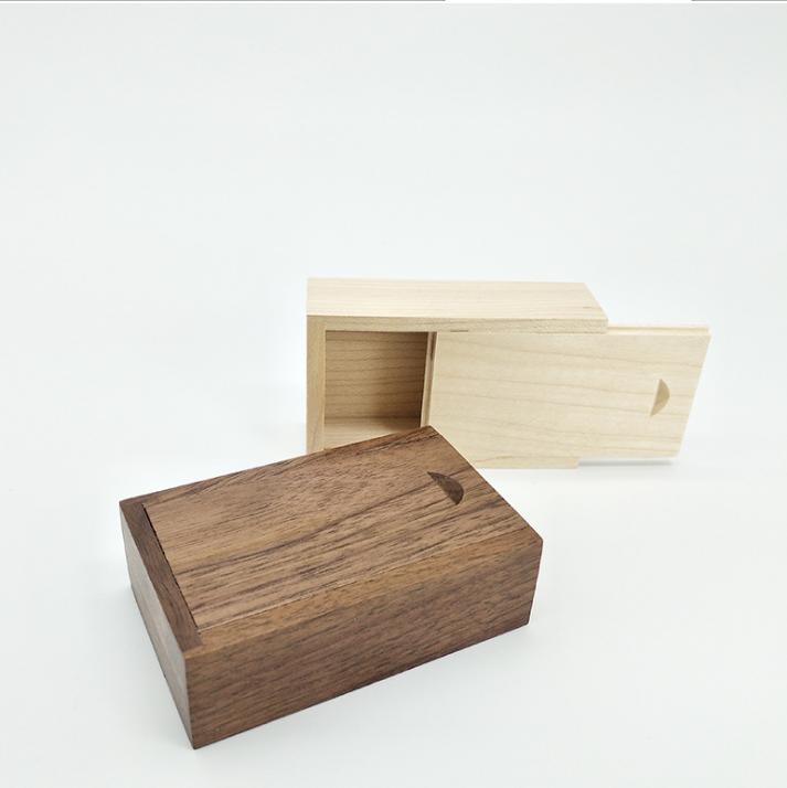Lightweight wood box paulownia box with logo