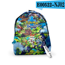 Мультяшные игровые 3D детские школьные сумки Pokemon мягкая плюшевая Сумка для малышей детский школьный рюкзак для мальчиков и девочек, дорожны...(Китай)