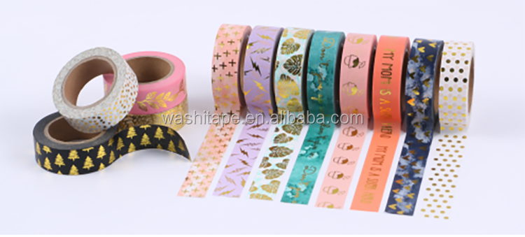Manzawa rose gold heart 와시 tape 15mm x 10 m 한 롤 shrink 랩 대 한 액세서리