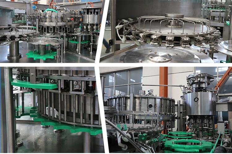 Otomatik cam şişe bira dolum/bira şişeleme dolum makinası Çin